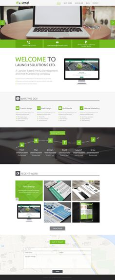 Corporate web template on Behance Tapioca Pudding, Plan Design, Flyer Design, Product Launch, Behance, Templates, Marketing, How To Plan, Stencils
