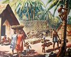 1940s Macmillan's Print A Homes Among The Palms In The South Seas s107