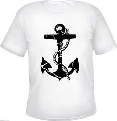 Tattoolover Motiv Anker als Shirt.