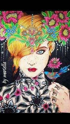 #summernights #prismacolor #sharpie #hannakarlzon colored by mariella