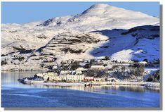 Sheildaig in the Winter    Scotland