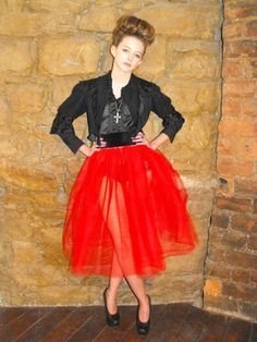 tutu!! I have a red one similar to this except mine has polka dots!