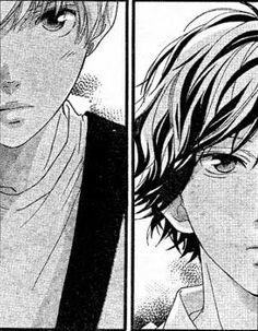 Ao haru ride Kou and Touma Manga Art, Anime Manga, Anime Guys, Strobe Edge Manga, Ao Haru Ride Kou, Mabuchi Kou, Blue Springs Ride, Manga Eyes, Deadman Wonderland