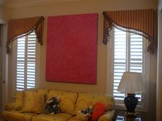 Valance for the windows
