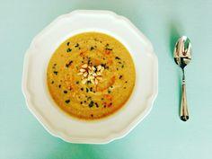 Vegan Summer Squash Soup #vegan #vegetarian #glutenfree #food #GoVegan #organic #healthy #RAW #recipe #health #whatveganseat