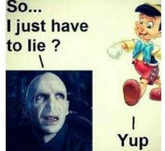 but Pinocchio is lying again...