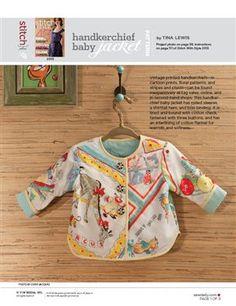 Pattern: Handkerchief Baby Jacket - Media - Sew Daily