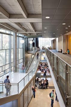 #atolyearch_ceiling Student Activity Center / Overland Partners + WTW Architects