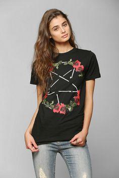 The Reason Roses & Pentagram Tee