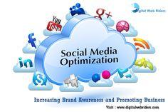 Increasing Brand Awareness and Promoting Business. Visit more http://www.digitalwebriders.com