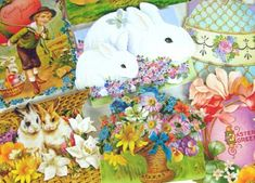 These beautifully designed Spring & Easter gift cards were created using rare ephemera from the Kirschner Decorative Arts Collection. Description from easterdayshop.com. I searched for this on bing.com/images
