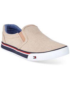 Tommy Hilfiger Boys' or Little Boys' Dennis Slider Sneakers