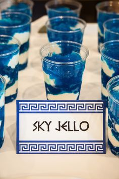 My Musings: Party on Mount Olympus - or make for the sea for Poseidon Festa Do Percy Jackson, Percy Jackson Birthday, Mamma Mia, Greek Party Decorations, Greece Party, Greek Toga, Greek Dinners, Party Mottos, Toga Party