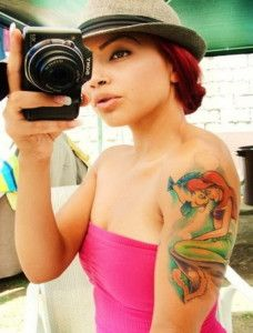 mermaid tattoos designs