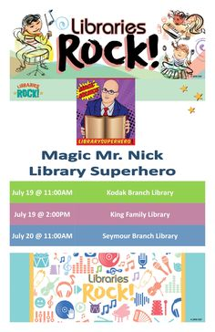 34 best 2018 libraries rock summer reading programs images on