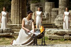 Ancient Greece Olympics | Evolution of the Olympic Torch - Ancient Greece to Beijing