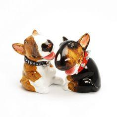 Bull Terrier S Shaker Figurine