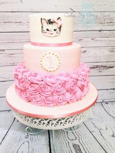 Little Miss Purrfect Kitten Cake, by Amy Hart