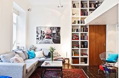 Small Swedish Apartment Securing The Inhabitant's Every Need