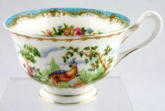 Royal Albert Chelsea Bird - Blue Edge | Plates, Serving Items, Tea