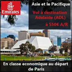 #missbonreduction; Asie et le Pacifique : vol à destination Adelaïde (ADL) à 1073€ en classe economique au départ de Paris.	http://www.miss-bon-reduction.fr//details-bon-reduction-Emirates-i852373-c1833583.html