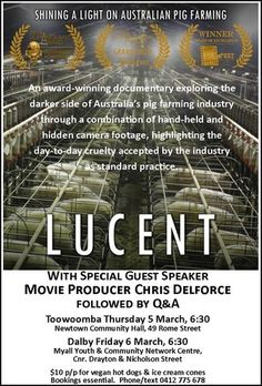 #Lucent #Documentary #Screenings in #Toowoomba & #Dalby in March