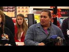 Paying for People's Groceries - YouTube