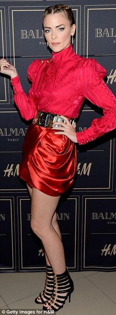 Standout stars: Selma Blair, left, and Jaime King, right, wowed the crowd at theBalmain X...