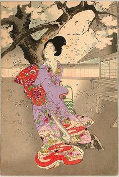 Toyohara Chikanobu Chiyoda Castle (Album of Women) - Metropolitan Museum of Art - Ukiyo-e