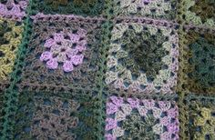 AllFreeCrochet.com - Free Crochet Patterns, Crochet Projects, Tips, Video, HowTo Crochet and More *Midnight Magic Afghan*