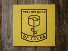 Yellow Rose #logo #design #inspiration