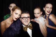 Alber Elbaz (Lanvin)-such a ladies' man