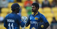 WELLINGTON: Lahiru Thirimanne and Kumar Sangakkara both scored centuries as Sri Lanka posted the highest successful run chase at Wellington Regional Stadium for a nine-wicket victory over England in their World Cup Pool A clash on Sunday.