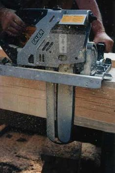 Sauer ZKS-2033 Upright Chainsaw - timbertools.com