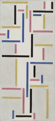 Theo van Doesburg. Rhythm of a Russian Dance, oil on canvas, 1918 - Google Search
