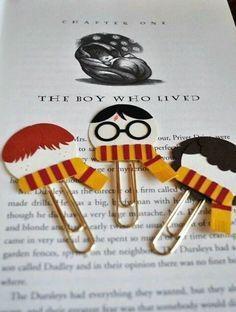 DIY Harry Potter könyvjelzők :)