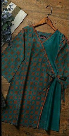 lawn dresses neck designs - lawn neck design - lawn neck designs 2019 - lawn dress neck design - lawn suit neck design - neck designs for lawn suits - lawn shirts neck designs - lawn dresses neck designs - lawn kurti neck designs Girls Dresses Sewing, Stylish Dresses For Girls, Stylish Dress Designs, Frocks For Girls, Stylish Dress Book, Simple Pakistani Dresses, Pakistani Dress Design, Frock Fashion, Indie Fashion