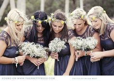 Stunning bridesmaids' dresses in this South African wedding! Marc & Nicky, Beloftes in Stanford Photographer: Moira West