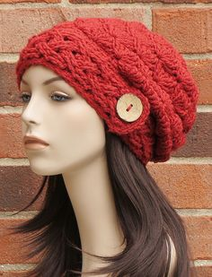 Ravelry: Aislinn Slouch Hat pattern by Justine Walley