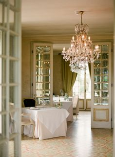 Classic Dining Room at the Borgo Santo Pietro | photography by http://www.ktmerry.com/blog/