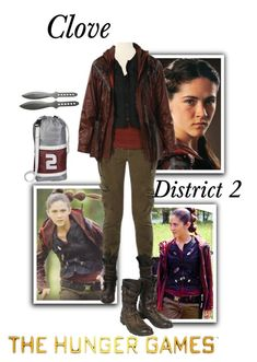 Designer Clothes, Shoes & Bags for Women Glimmer Hunger Games, Clove Hunger Games, Hunger Games Cast, Hunger Games Fandom, Hunger Games Outfits, Hunger Games Costume, Fandom Outfits, Katniss Everdeen Halloween Costume, Hunger Games Districts