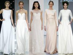La sencillez, la nueva tendencia en vestidos de novia 2017 - http://www.bezzia.com/la-sencillez-la-nueva-tendencia-en-vestidos-de-novia-2017/