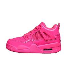 9f00a48decb1 Little Girl Retro 4 AIR US JORDAN Pink Basketball Shoes Bred Children  Tattoo Raptor White Cement Sneakers Black For Boy