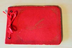 Vintage Autograph Book by grandaddyswoodmill on Etsy