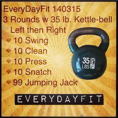 kettlebell workout- www.custombodz.com #wod #workout #kettlebell #kettlebellkings
