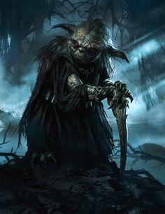 Ecco come apparirebbe Yoda se fosse passato al Lato Oscuro