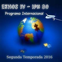 Nuestra temporada EKHOS IV-IPN 80 contará con 5 programas que te llevarán a un viaje por el mundo.