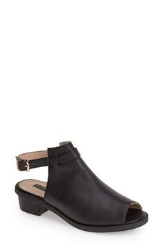 Topshop 'Barton' Slingback Boot (Women) available at #Nordstrom