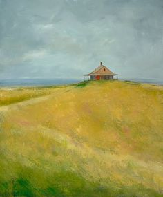 Anne Packard. American Artist: This is the kind of painting I search for. Oh, the mystery! Note by Roger Carrier