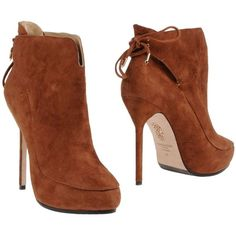 AQUAZZURA Ankle boots found on Polyvore